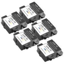 10 x Advent 10 Compatibe Ink Cartridge for Printer ABK10 ACLR10 A10 AW10 AWP10