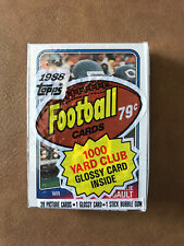 1988 Topps Football, unopened Cello Pack, Willie Gault on Top! Chicago Bears