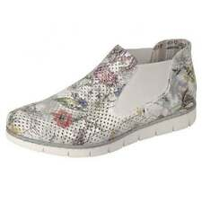 Pull On Textile Floral Boots for Women