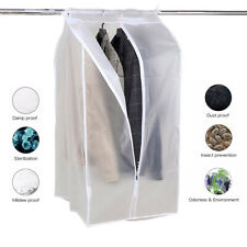 Clothes Hanging Bag Dust Cover Garment Suit Dustproof Wardrobe Storage Organizer
