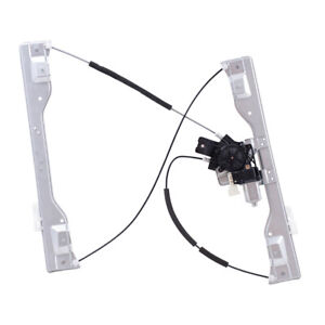Front Power Window Regulator w/ Motor for 15-20 Ford F150 Drivers Side