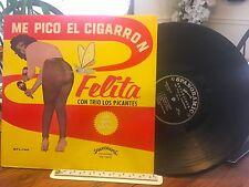 FELITA CON TRIO LOS PICANTES LP ME PICO EL CIGARRON  Chessecake Cover  EX Latin