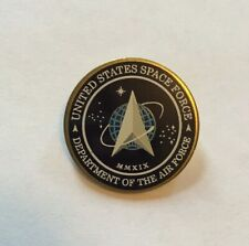 Space Force Lapel Pin 1� United States Made In Usa