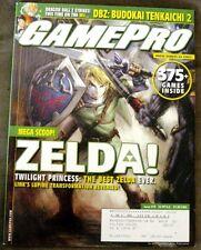 Gamepro Magazine Issue #219 Dec. 2006 Zelda Twilight Princess Cover