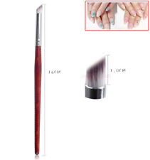 1 PCS Gradient Painting Pen Drawing Brush Wooden Handle Manicure Nail Art Tools