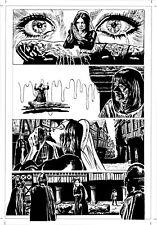 'RICHARD III' PAGE 10 - ORIGINAL ART BY ROB MORAN