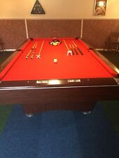Brunswick Centurion Slate Bed 9ft pool table