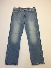 "Herren Levi 751 ""Straight Fit"" Jeans W36 L32-Faded Navy Wash-super Zustand"