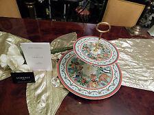 Enorme alzate 31 cm di diametro 2 fasi Rosenthal Versace Merry Christmas 2011