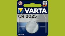 100 x Varta CR2025 CR 2025 6025 3V Lithium Knopfzelle Blister Batterien