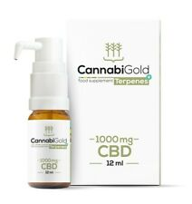 CannabiGold TERPENS+ 1000mg 12ml, FREE P&P!