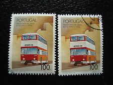 PORTUGAL - timbre yvert et tellier n° 1768 x2 obl (A28) stamp (X)