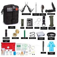 kit de survie 47 En 1, Sac Avec Trousse De Survie D Urgence Et Premier Soin
