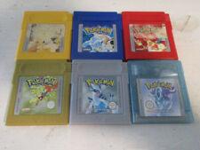 Original Nintendo Game Boy Pokemon Spiele Sammlung Konvolut Deutsch Speichert