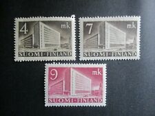 Finland, Scott#219,219A,219B, MNH