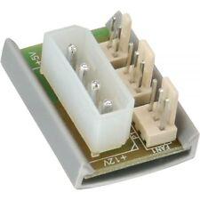 * InLine® * Lüfter Adapter Platine für Gehäuselüfter * 5,25 Zoll --> 2x Lüfter