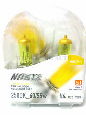 NOKYA USA H4 2500K Yellow Halogen Bulb for Holden Commodore VL VN VP VR VS VT