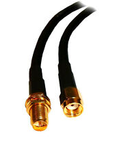 CABLE DE ANTENA WIFI 5 METROS MACHO HEMBRA RP ROUTER WIRELESS ROOTER WI-FI 5M
