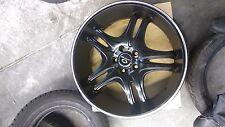 Lorenzo WL031 20x8.5 5x130 ET 38 Black Wheels Rims WL031 Porche Cayenne