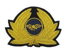 More details for pilot badge for cap generic badge airline cap badge gold r1745