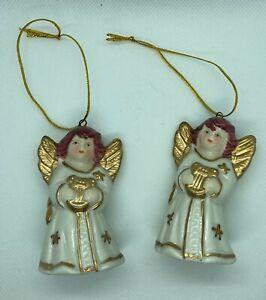2 Engel mit Glöckchen - Weihnachtsdeko - Weihnachtsbaum - Deko Weihnachten