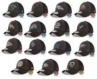 New NFL New Era NFL Black Heather Neo 39THIRTY Mens Cap Hat