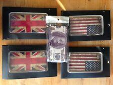 Cover 5Stk.!! iPhone 4 4s 4g  4gs Flagge USA 🇺🇸 GB 🇬🇧 und Banknote NEU!