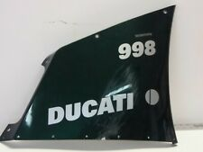 Ducati 94-04 748 916 996 998 RIGHT Mid Fairing Cowling matrix green scratches