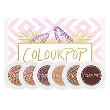 Colourpop Mile High Palette Set Of 6 - Super Shock Shadow Collection *UK Seller*