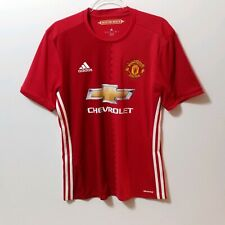 MANCHESTER UNITED Soccer Jersey ADIDAS 2016/2017 HOME Men's M