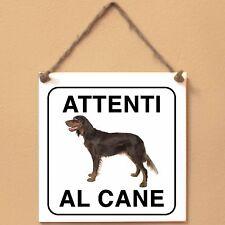 Epagneul Picard 2 Attenti al cane Targa cane cartello ceramic tiles