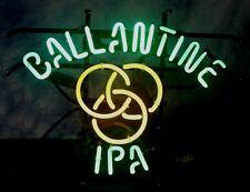 "Ballantine Beer Neon Sign Light Lamp 17"" x 13.5""- Euc"