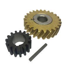 Remplacement Hobart 50 Hz Worm Gear Bague Assy, 15 T 103960 Gear et clé pour A200