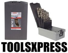 Genuine Bosch 25 Piece 1-13mm HSS Metric Drill Bit Set  **SPECIAL**