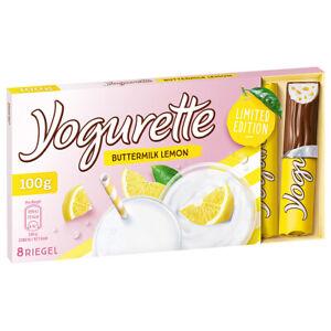 Yogurette Buttermilch Lemon Limited Edition 8 Sommer Riegel 100g