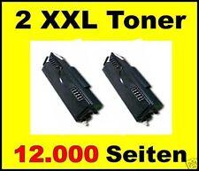 2 x Cartouche d'encre pour DELL 1700 1700N 1710 1710N / K3756 SUPER XXL