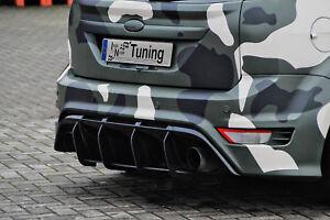 Heckansatz Diffusor Heckdiffusor aus ABS Ford Focus RS DA3 Eintragungsfrei