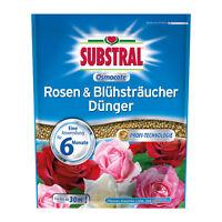 Substral Osmocote Rosen & Blühsträucher Dünger 1,5kg Rosendünger Flieder Stauden