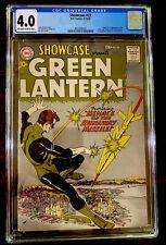 Showcase #22 CGC 4.0 DC 1959 1st Green Lantern! Silver! Hal Jordan Key New Movie