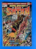 Marvel Spotlight #12 (1st Son of Satan)🔑🔥🔥🎥