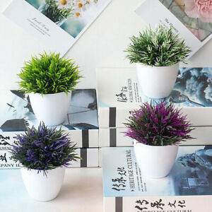 Mini Artificial Potted Plants Fake Green Potted Ornaments Home|Table Decoration