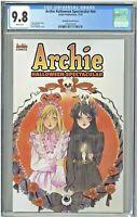 Archie Halloween Spectacular CGC 9.8 Peach Momoko Variant Cover Edition