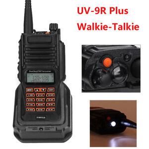 For Baofeng UV9R Plus Walkie Talkie U/V Handheld Two Way Radio CTCSS/DCS 128CH