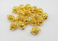 AUTHENTIC 22K GOLD BEADS FOR JEWELRY PURELY HANDMADE DESIGN JEWELRY MAKING