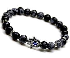UK Energy Power Bead Healing Root Chakra Reiki Crystal Bracelet for Men Ladies