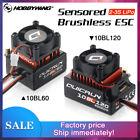 Hobbywing QUICRUN Sensored 10BL120 120A /10BL60 60A Brushless ESC for 1/10 Car