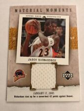 2005/06 Upper Deck Portraits Jason Richardson Material Moments Jersey MM-JR
