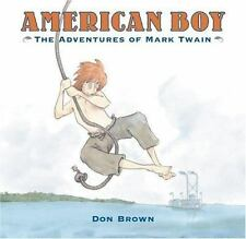 American Boy: The Adventures of Mark Twain-ExLibrary