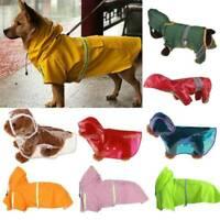 Wasserfest Haustier Welpe Katze Regenmantel Hunde Jacke Mäntel Regenbekleidung