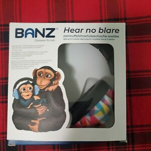 Baby Banz EM009 Plastic Hearing Protection Earmuffs for Infants - Blue
